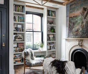 home, books, and house image