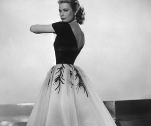 grace kelly, vintage, and dress image