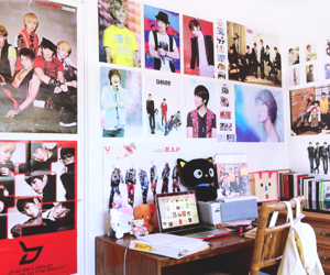 kpop, posters, and random image
