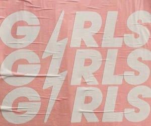 girl, pink, and theme image