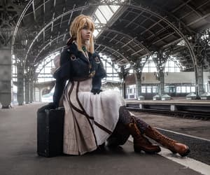 cosplay, visual novel, and violet evergarden image