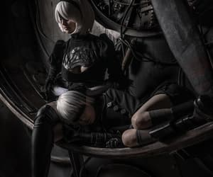 cosplay, nier automata, and game image