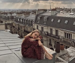 love, fashion, and france image