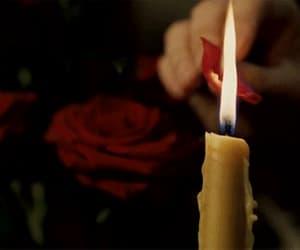 candle, dark, and dorian gray image