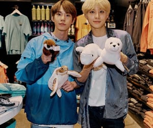 jungwoo, doyoung, and nct image