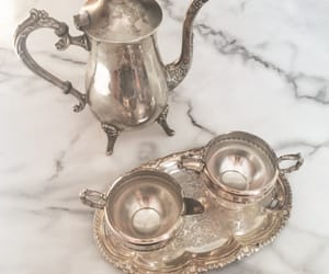 antique, dusty pink, and high tea image