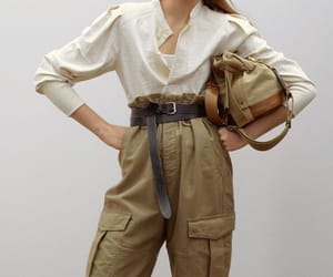 bag, belt, and fashion image