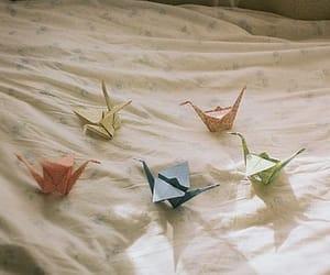 vintage, origami, and indie image
