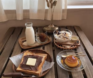 breakfast, calm, and lovely image