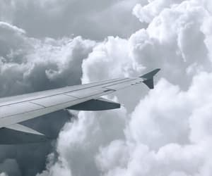 airplane, clouds, and happiness image