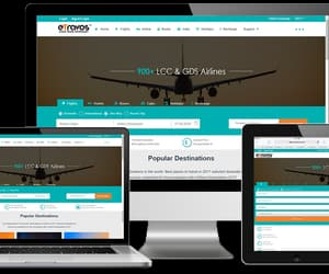 travel agency software and b2c travel portal image