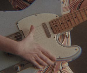 aesthetic, guitar, and vintage image