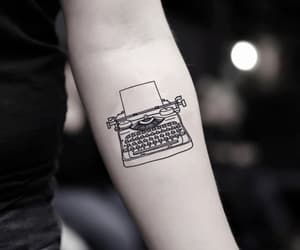minimalist, tattoo, and writing image