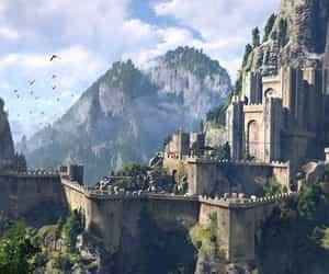 art, game, and fantasy image