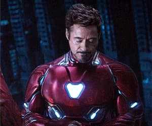 Avengers, Marvel, and tony stark image