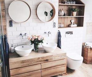 home, house, and bathroom image