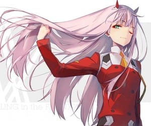 anime, zero two, and 02 image