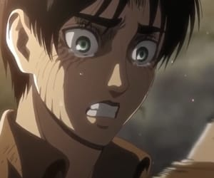 attack on titan and eren yeager image