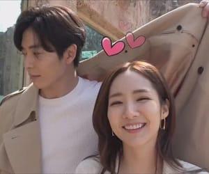 kdrama, kim jae wook, and park min young image
