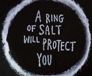 salt, supernatural, and ring image