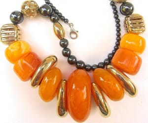 etsy, huge necklace, and vintage necklace image