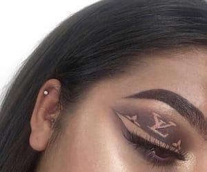 makeup, eyeshadow, and goals image