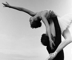 ballerina, classic, and couple image