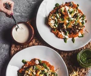 foodporn, lentil, and sweet potato puree image