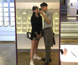 asian, couple, and kfashion image