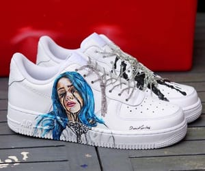 b e a u t i f u l, q u e e n, and billie eilish image