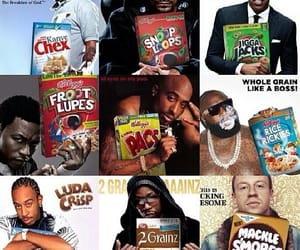 2pac, fun, and cereal image