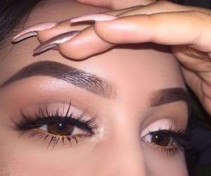 beautiful, eyebrows, and eyes image