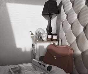 bag, bed, and interior image