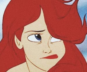 ariel, disney, and aesthetic image