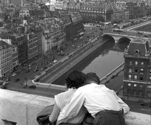love, paris, and vintage image