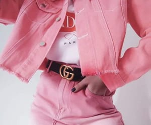 pink, fashion, and gucci image