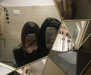 aesthetic, mirror, and korean friends image