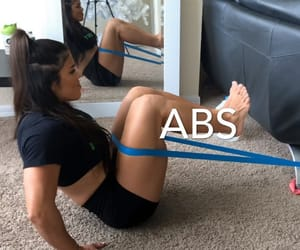 abs, fitness, and abs workout image