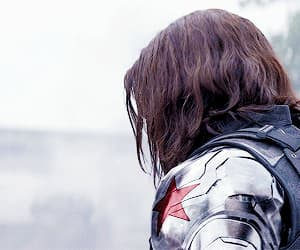 winter soldier, gif, and bucky barnes image