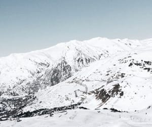 mountain, neve, and snow image