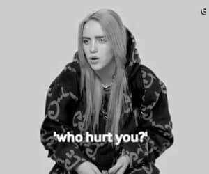 billie, hurt, and emo image