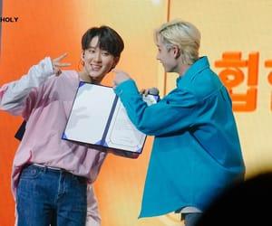 Chan, hyunjin, and woojin image