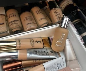 makeup, vanity, and foundations image