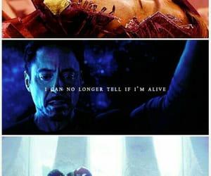 Avengers, Marvel, and iron man image