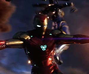 gif, avengers endgame, and iron man image