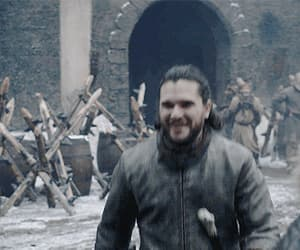 gif, jon snow, and got image