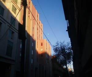 Mexico City, sky, and moon image