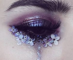 purple, flowers, and aesthetic image