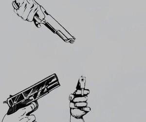 alternative, guns, and temper image