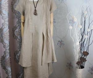 etsy, short sleeved dress, and long dress image